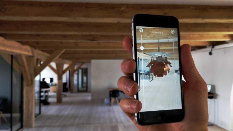 Louis Poulsen AR app