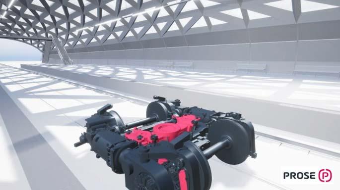 Prose transport løsninger i VR
