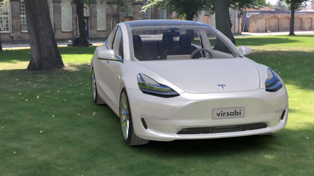 Tesla Augmented Reality