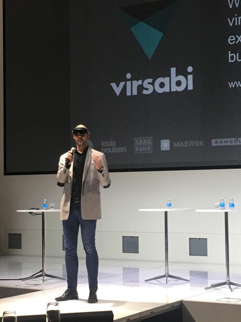 Michael Harboe præsenterer Virsabi